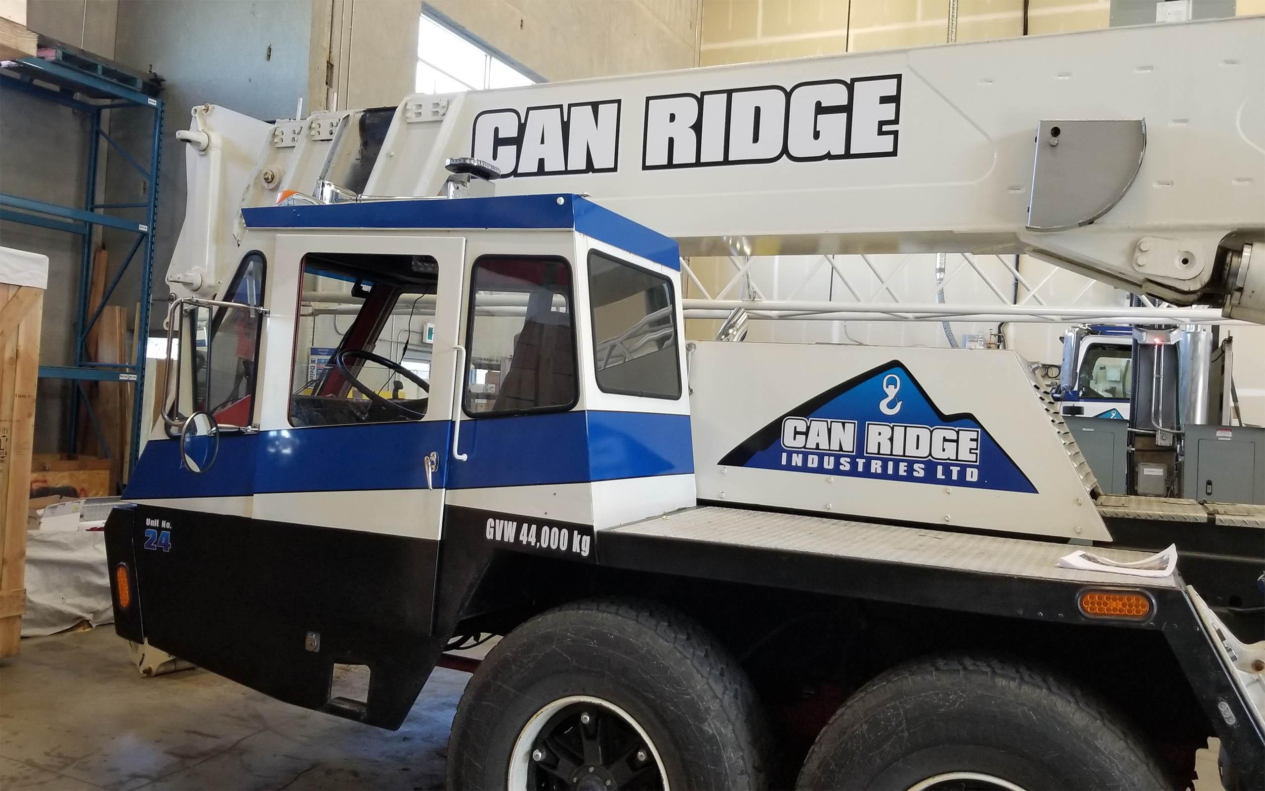 Can Ridge 40-Ton Hydraulic Crane #1